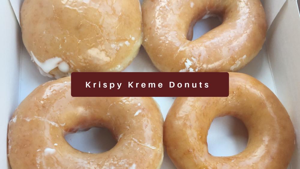 Krispy Kreme Donuts Kristen Martinelli