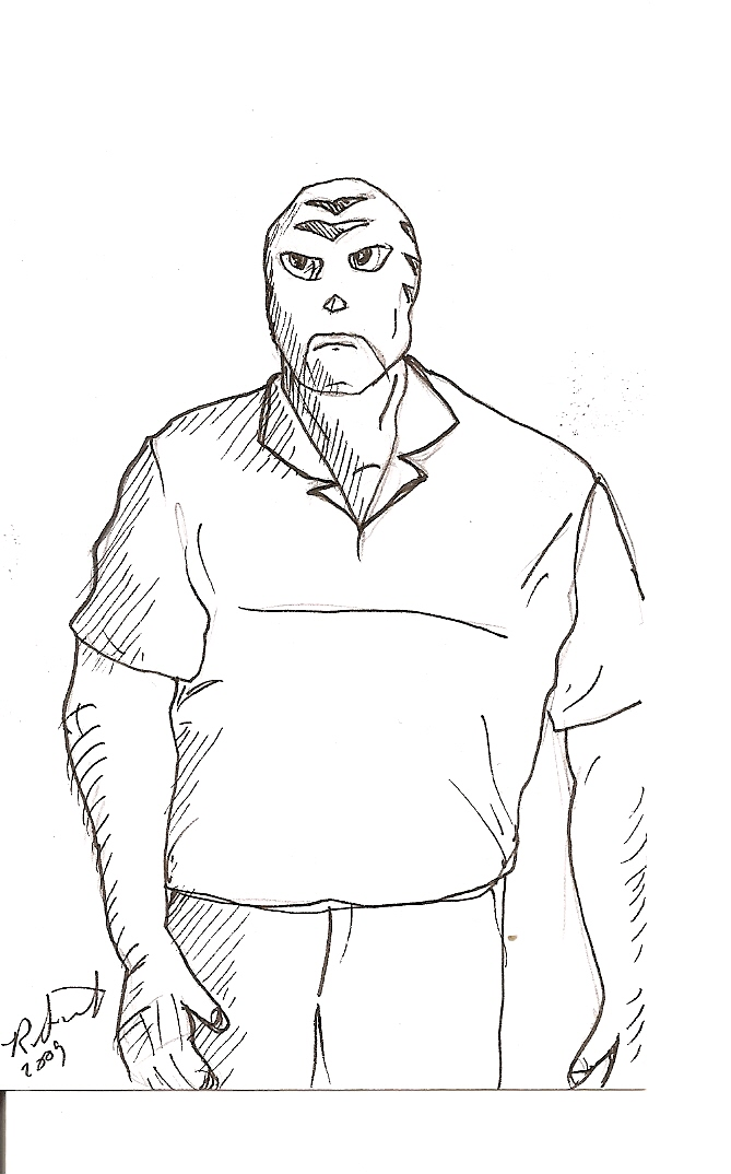 Tigre Sketch (Rob Saywitz)