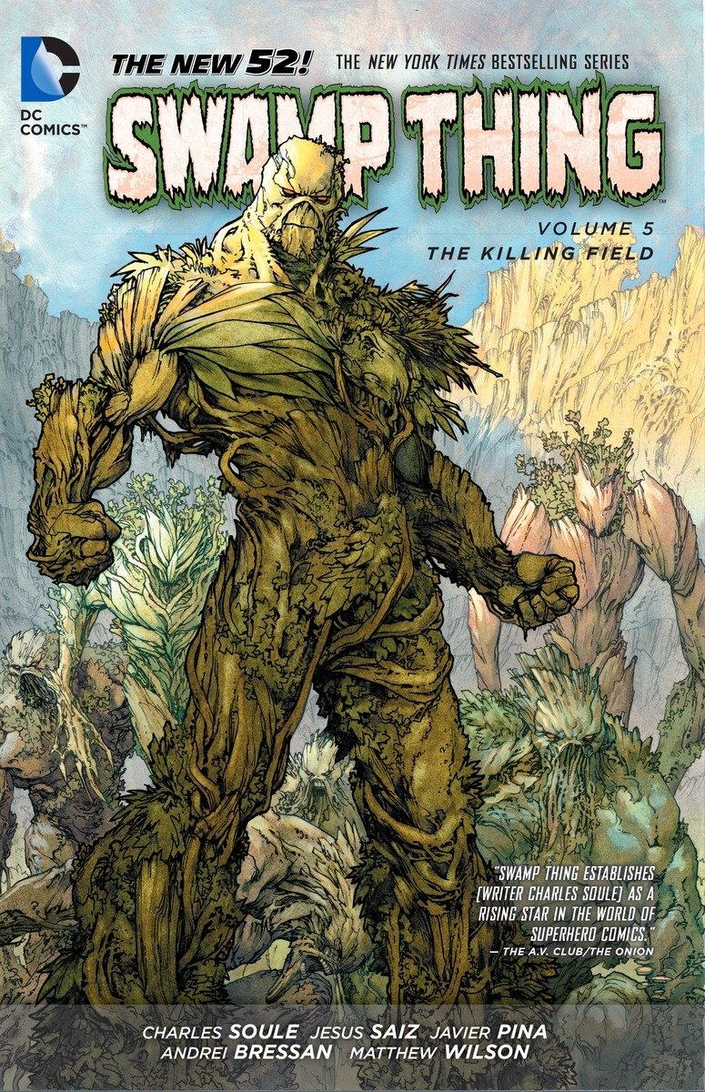 Swamp Thing Vol. 5: The Killing Field
