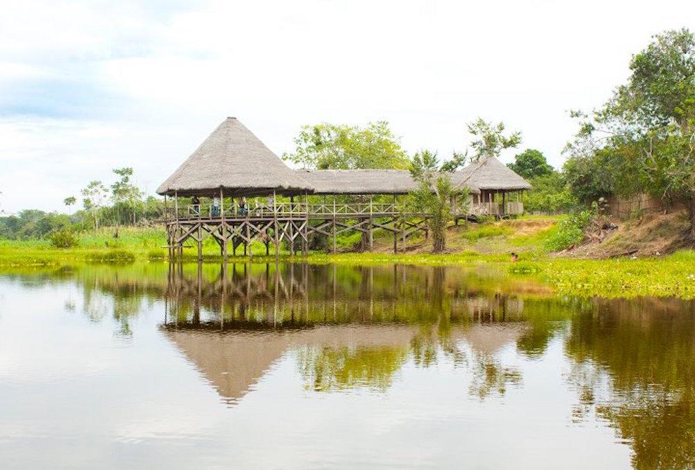 Maloca - Lago Cuipari