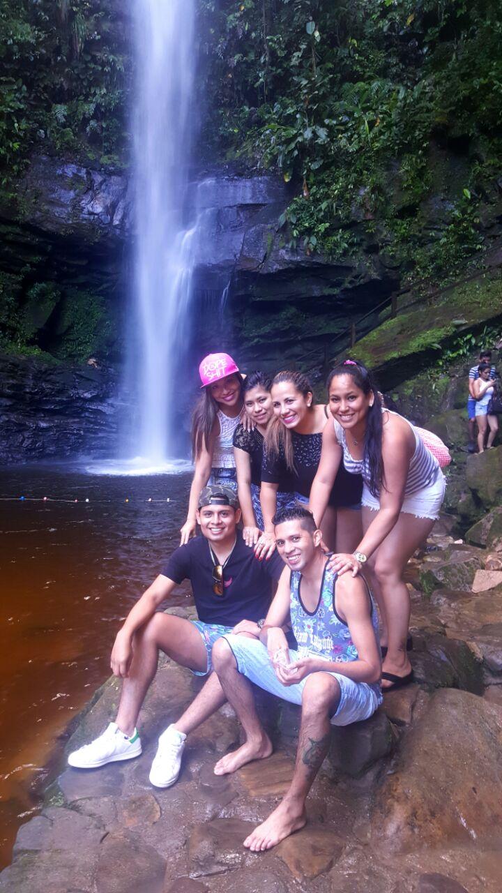 Catarata (Waterfall) de Ahuashiyacu