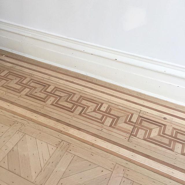Refinishing wood floors in Brooklyn. #prospectheights #brownstone