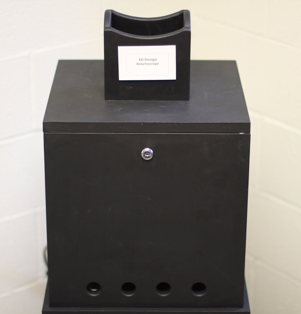 Kinetoscope, Orphan Film Symposium, Library of Congress, 2016