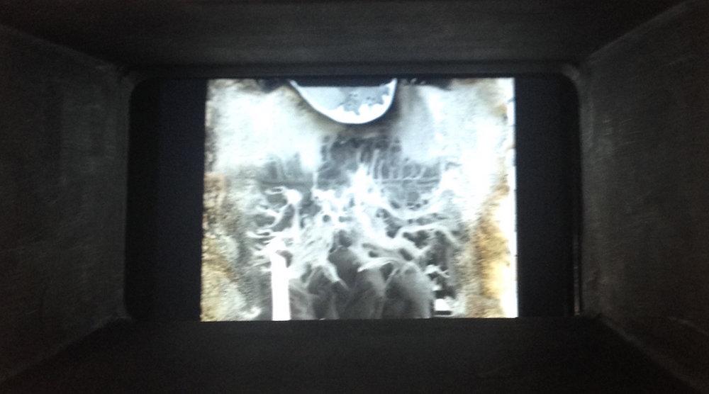Kinetoscope, Orphan Film Symposium, Library of Congress, 2016   Still From Bill Morrison's Film