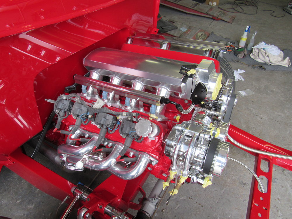 56 Ford engine build.JPG