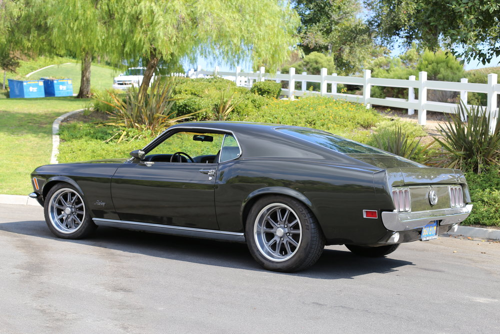 1970 Ford Mustang Dark Green