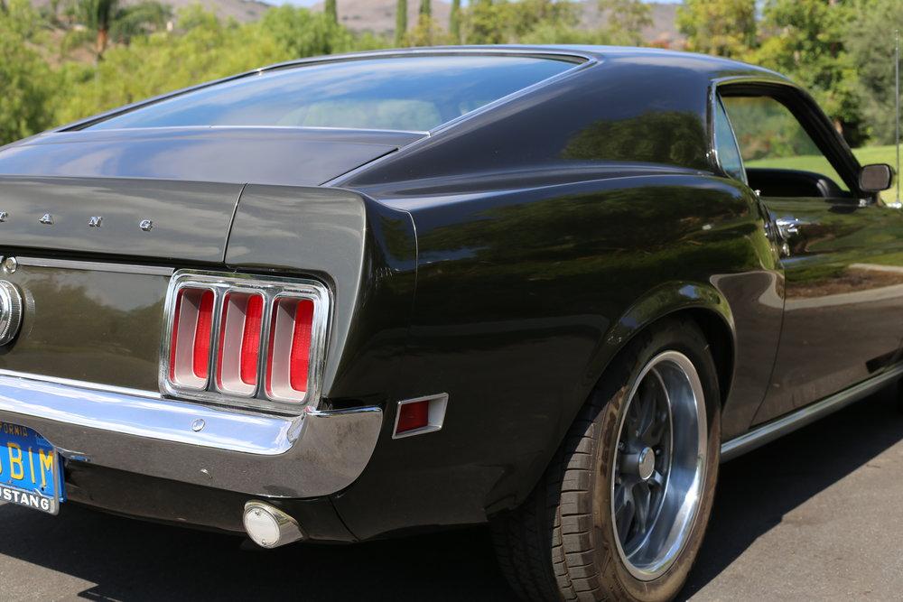1970 Mustang Dark Green