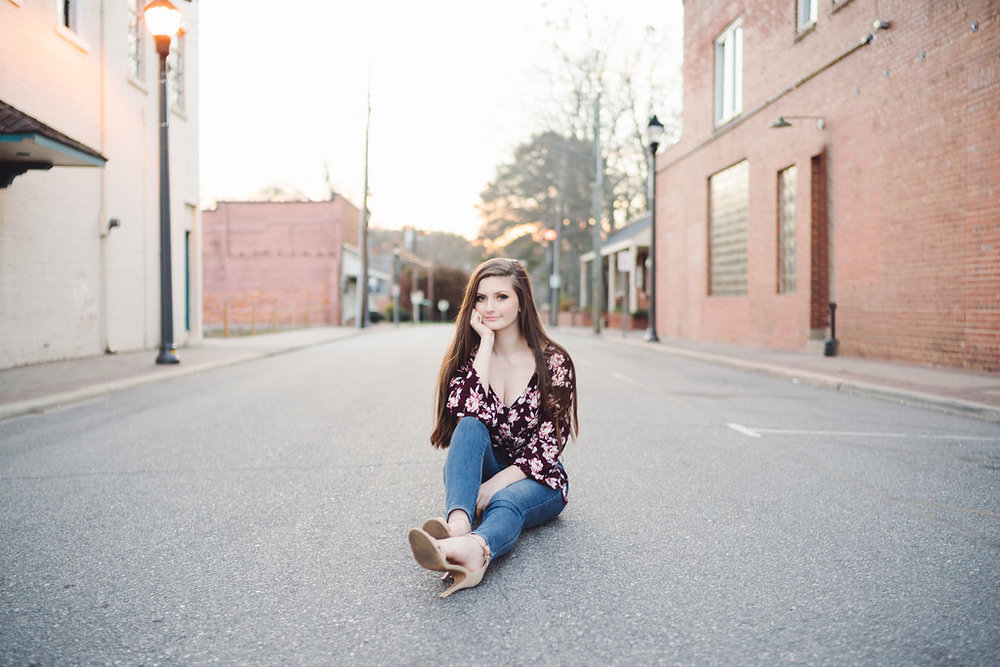 Love love love this shot from downtown Fuquay.