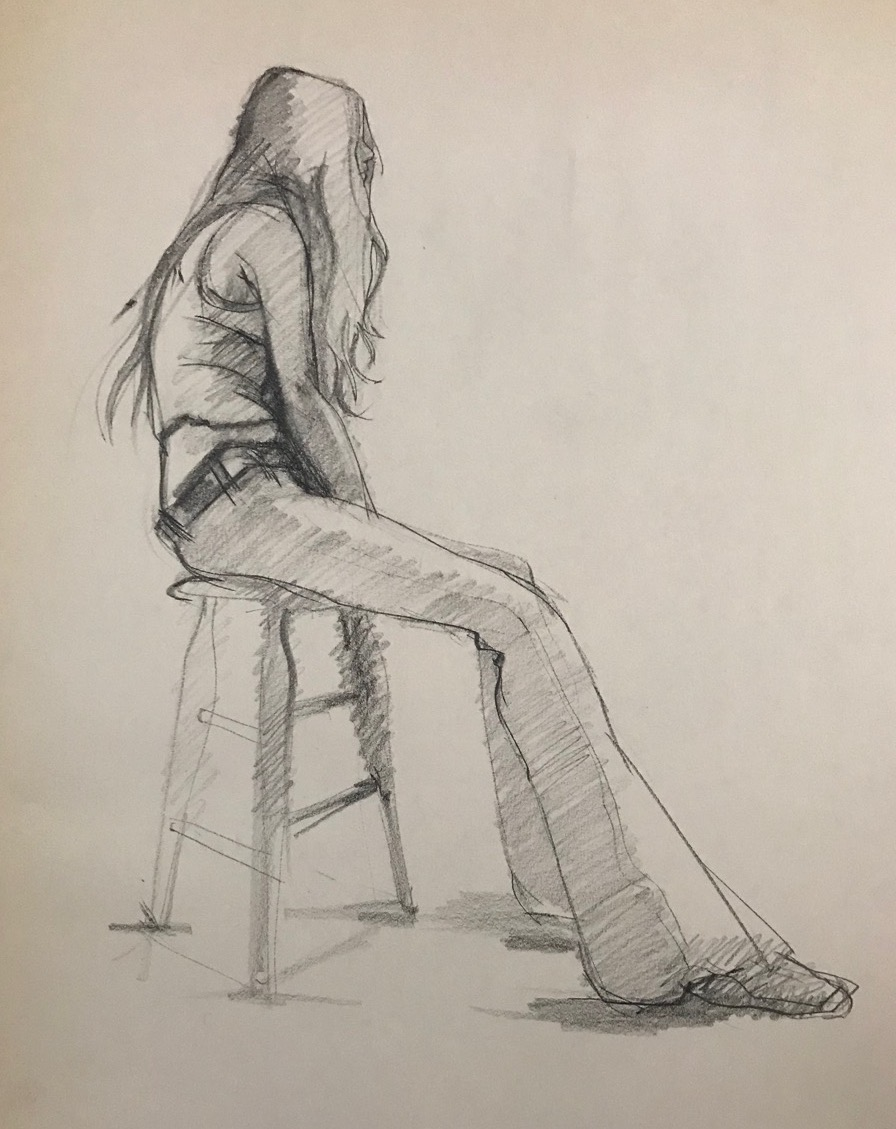 LJDrawing4-Female Figure in Jeans #1, Charcoal 22%22x16%22 copy.jpg