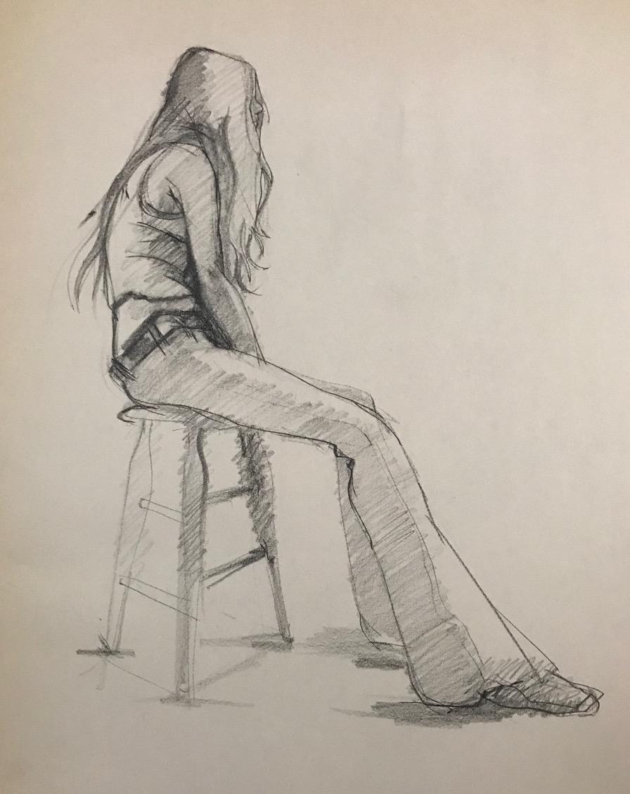 LJDrawing4-Female Figure in Jeans #1, Charcoal 22%22x16%22 copy.jpg