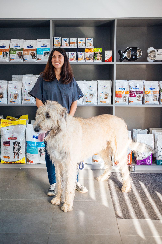 Ophélie Pouëssel  - Auxiliaire de santé vétérinaire