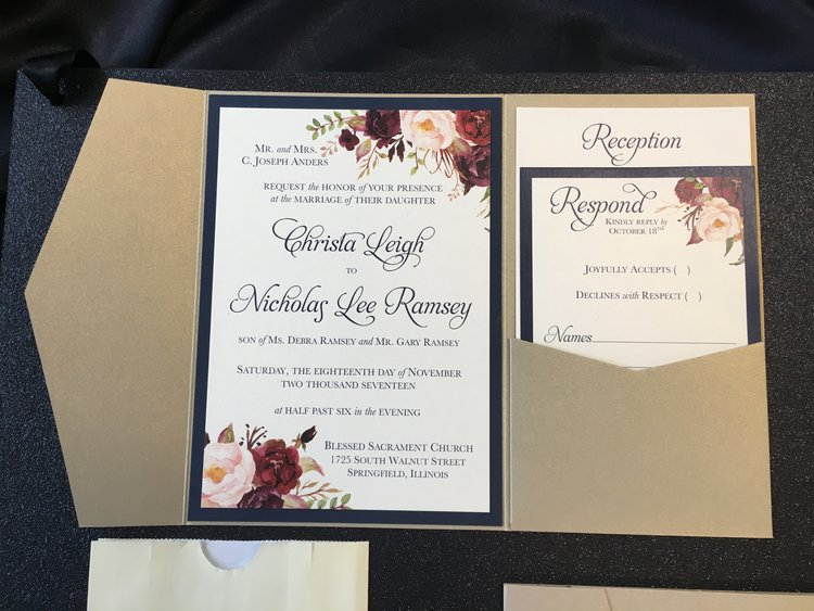wedding invitations the paper boutique