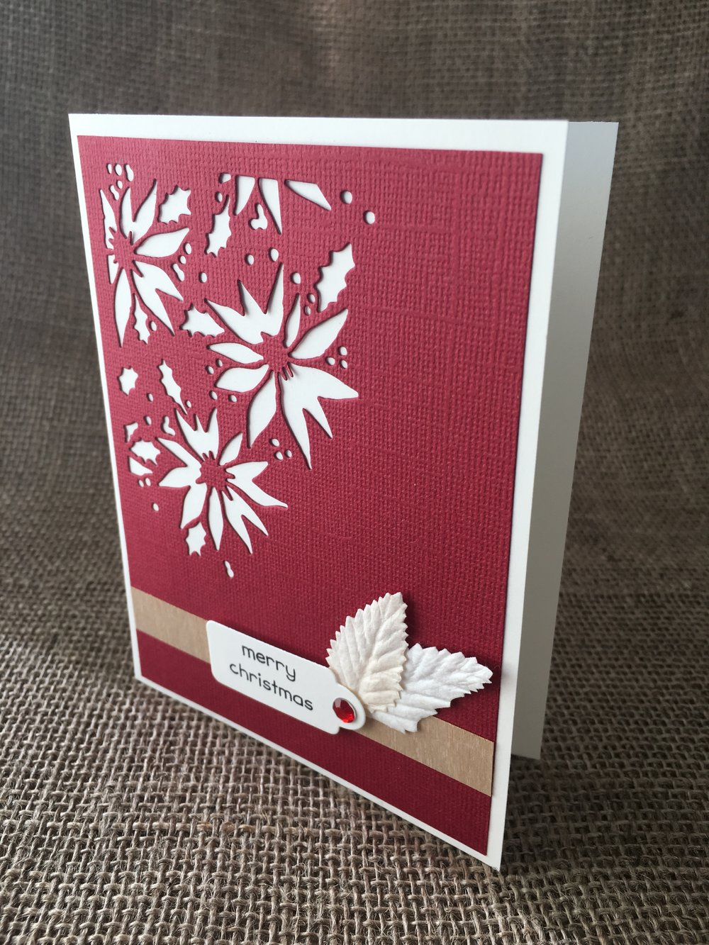 Die Cut Holiday Card