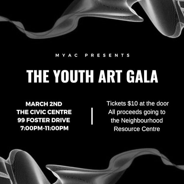 So excited to be a part of @myacssm's Youth Art Gala tonight! Come support local artists & a lovely cause, and say hello to yours truly 🤗💛 I'll have a few prints for sale as well ✨