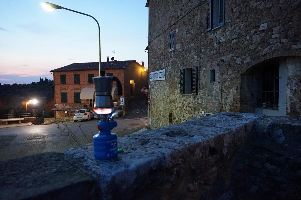 Hike walk in Tuscany, Via Francigena