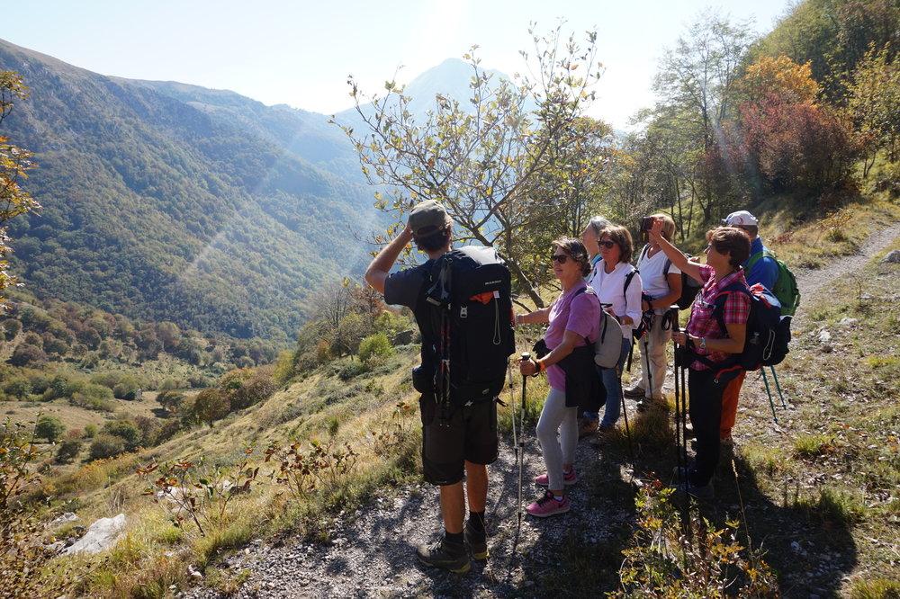 Trekking in Tuscany