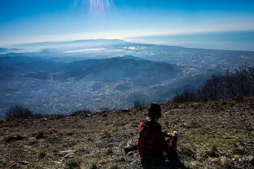 Hiking in Tuscany, Camaiore, Apuan Alps, Versilia