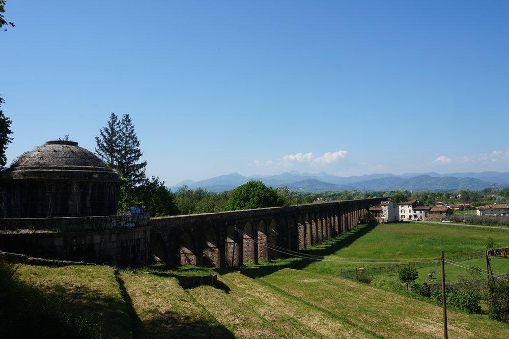Hiking in Tuscany, Via degli acquedotti Lucca Pisa