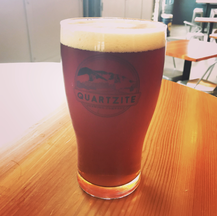 Browns Lake Brown @Quartzite Brewing