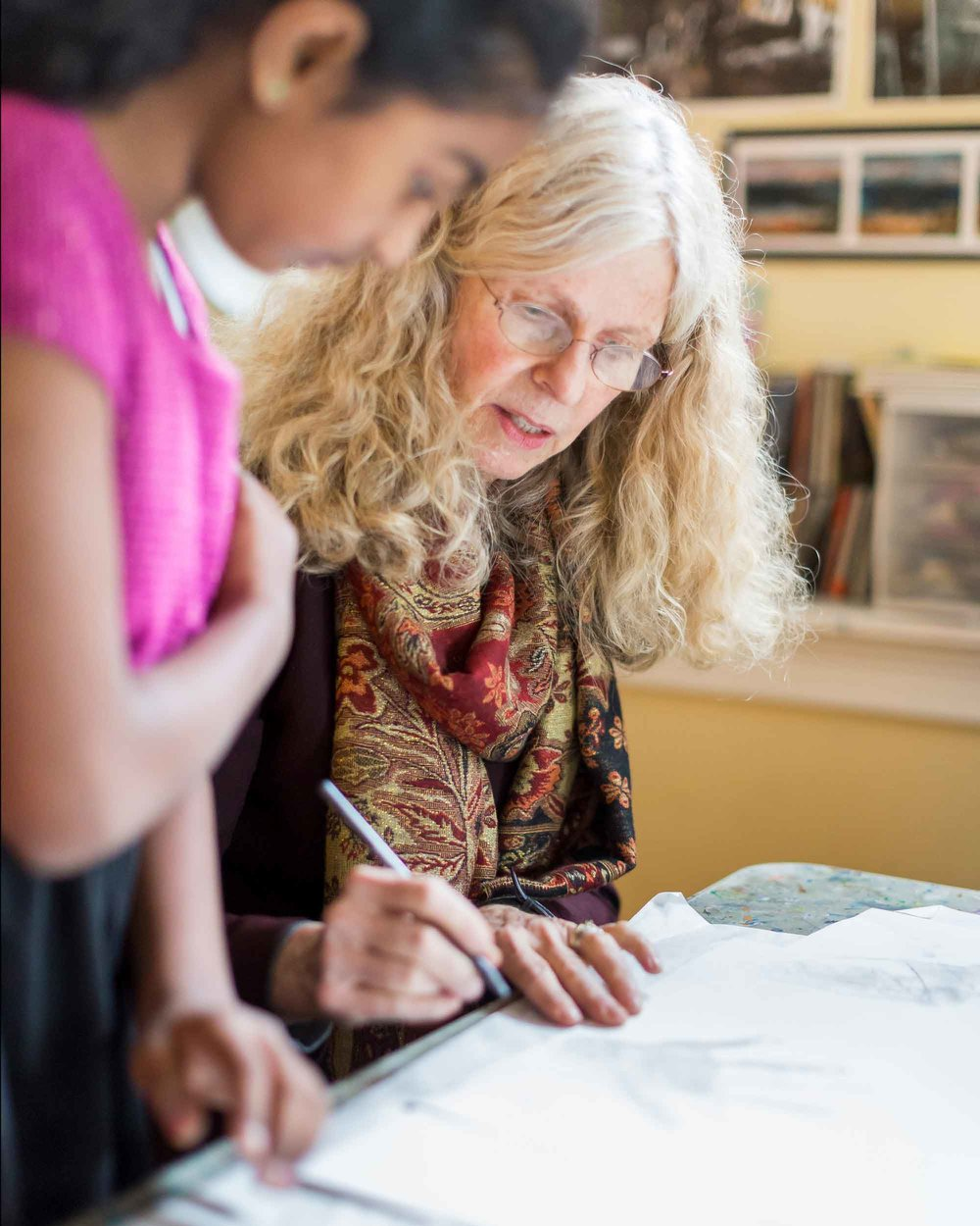 Classes - Join Mickey Waring for a dynamic exploration of creativity in a supportive and nurturing environment. Collage, watercolor, drawing, nature journaling, bookmaking, poetry and more. All ages welcome!Learn More