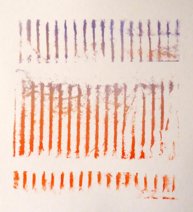 Prairie Print #1,  monoprint