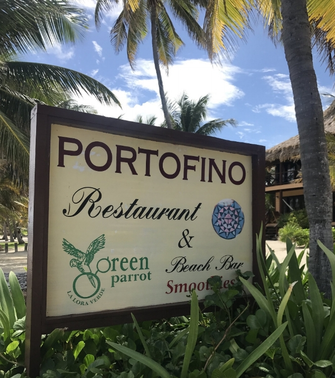 Portofino Restaurant  is one of our local favs with an ocean view and a beautiful pool.