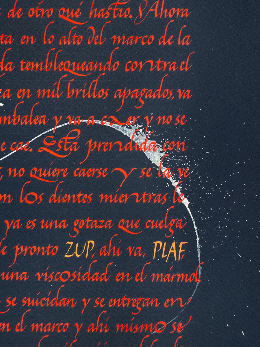 Aplastamiento-de-las-gotas-Cortazar---Joan-Quiros-Calligraphy-Detail-2.jpg