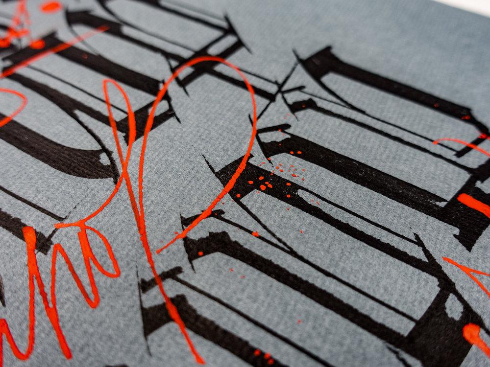 Original calligraphy works u2014 joan quirós calligraphy & lettering