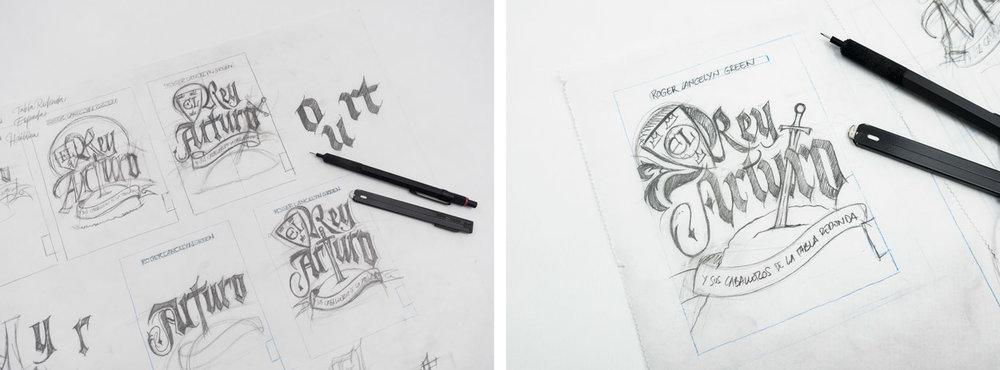 Joan-Quiros-El-Rey-Arturo-Lettering-Sketches-1.jpg