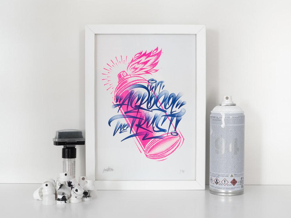 In-Aerosol-We-Trust---Riso-Print---Joan-Quiros-lettering-2.jpg