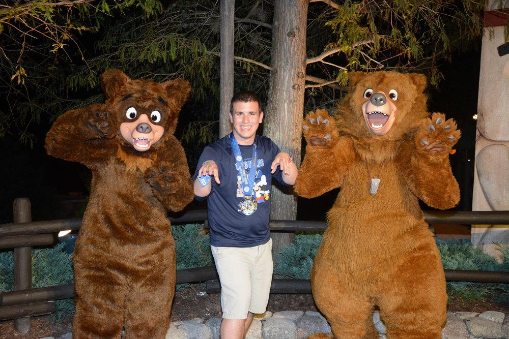 Fun fact: He's friend's with bears!