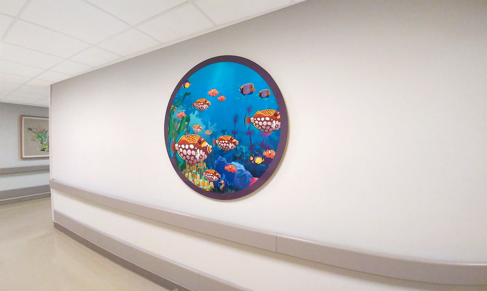 Aquarium Themed Print (2)