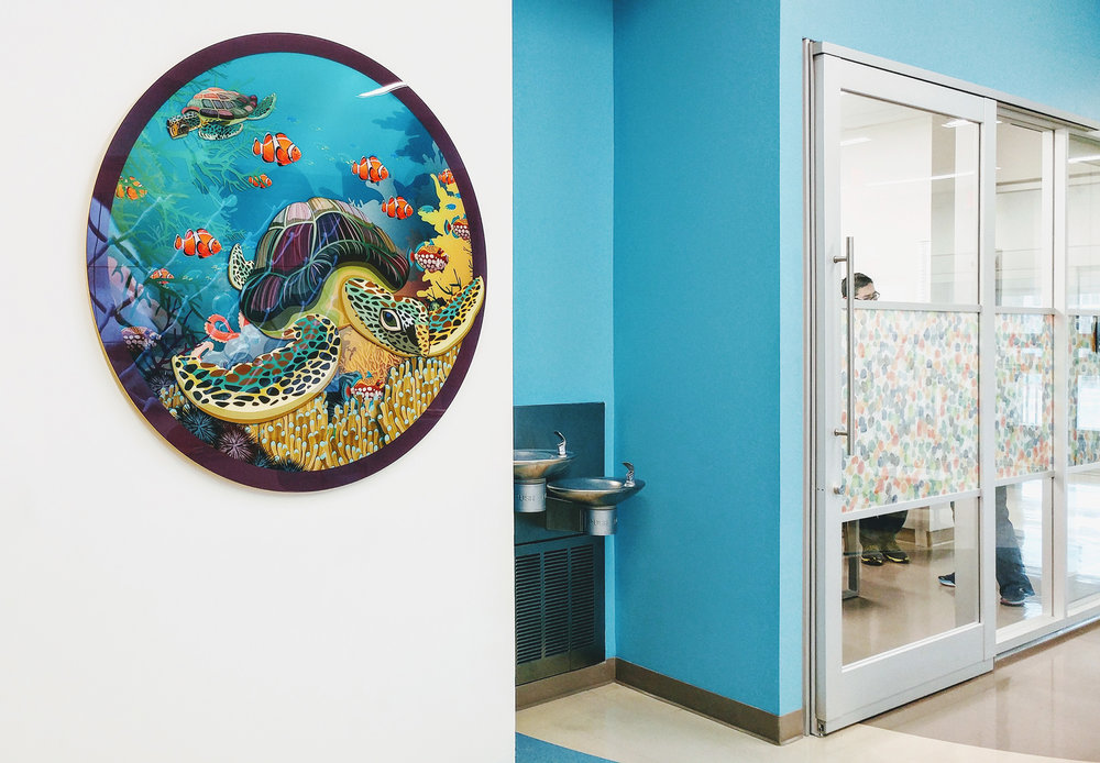 Aquarium Themed Print