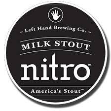 Left Hand Milk Stout NITRO (6%) -- 15.5 Gal  PRICE $329.99