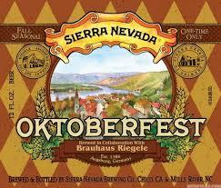 Sierra Nevada Oktoberfest (6.1%) -- 15.5 Gal  PRICE $269.99