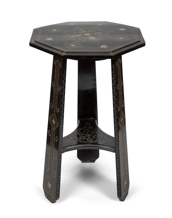 19th Century Moroccan Tea Table