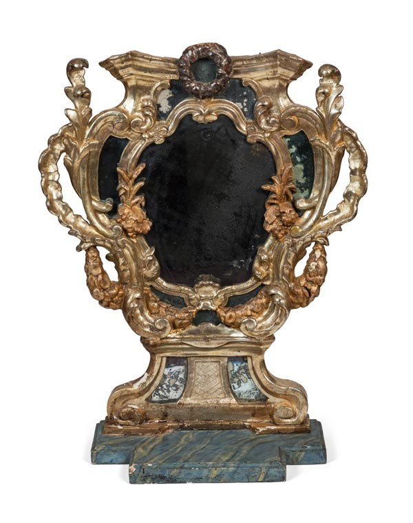 KS Private Collection French Baroque Court Mirror