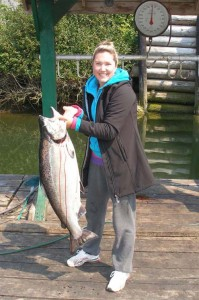 Michele Gammie 33 pounder