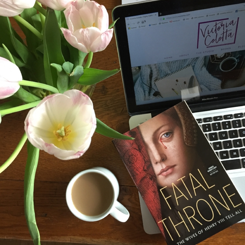 FATAL THRONE: THE WIVES OF HENRY VIII TELL ALL (coffee)