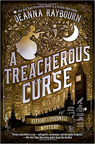 Book Review for A TREACHEROUS CURSE by Deanna Raybourn