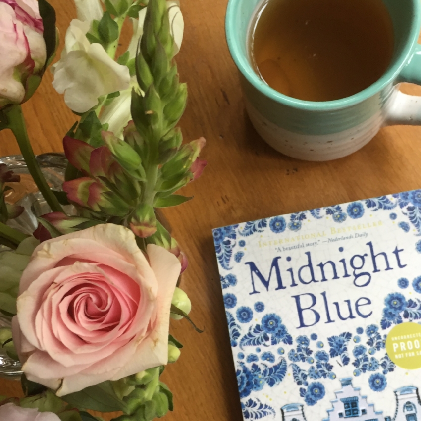 Book Review for MIDNIGHT BLUE by Simone Van Der Vlugt