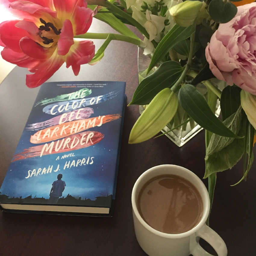 Book Review for THE COLOR OF BEE LARKHAM'S MURDER by Sarah J. Harris
