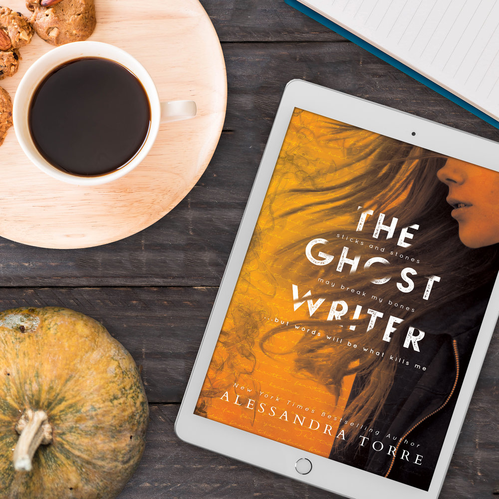 Book Review for THE GHOSTWRITER by Alessandra Torre