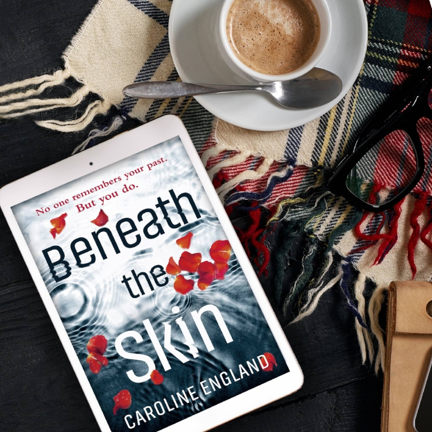 Book Review for BENEATH THE SKIN by Caroline England