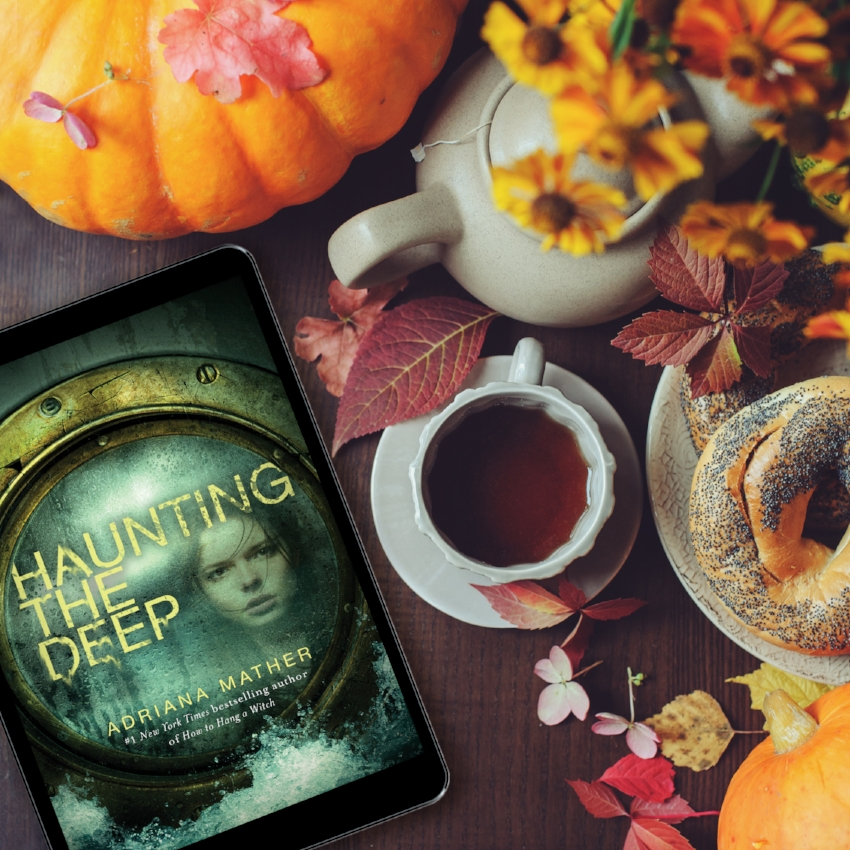 Book Review for HAUNTING THE DEEP by Adriana Mather