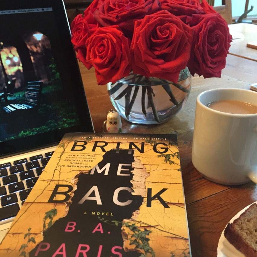 Book Review for BRING ME BACK by B.A. Paris