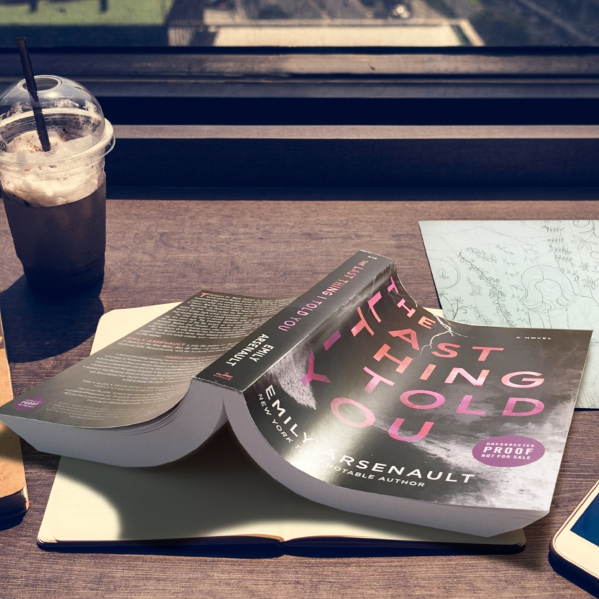 Book Review for THE LAST THING I TOLD YOU by Emily Arsenault