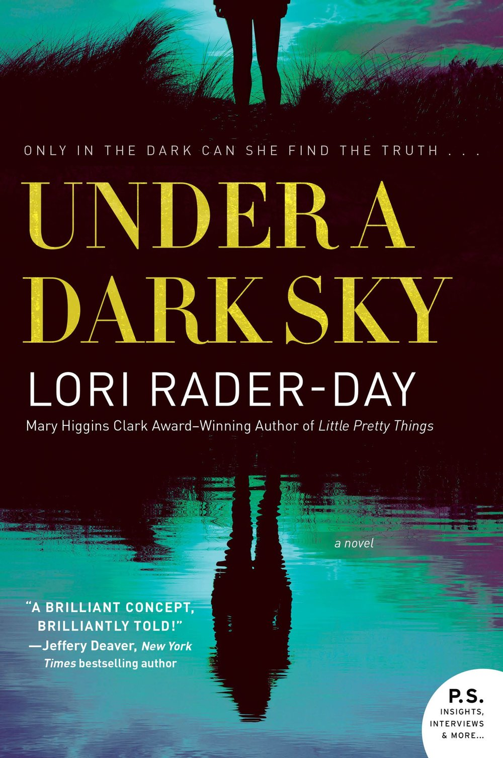 UNDER A DARK SKY by Lori Rader-Day (Cover)