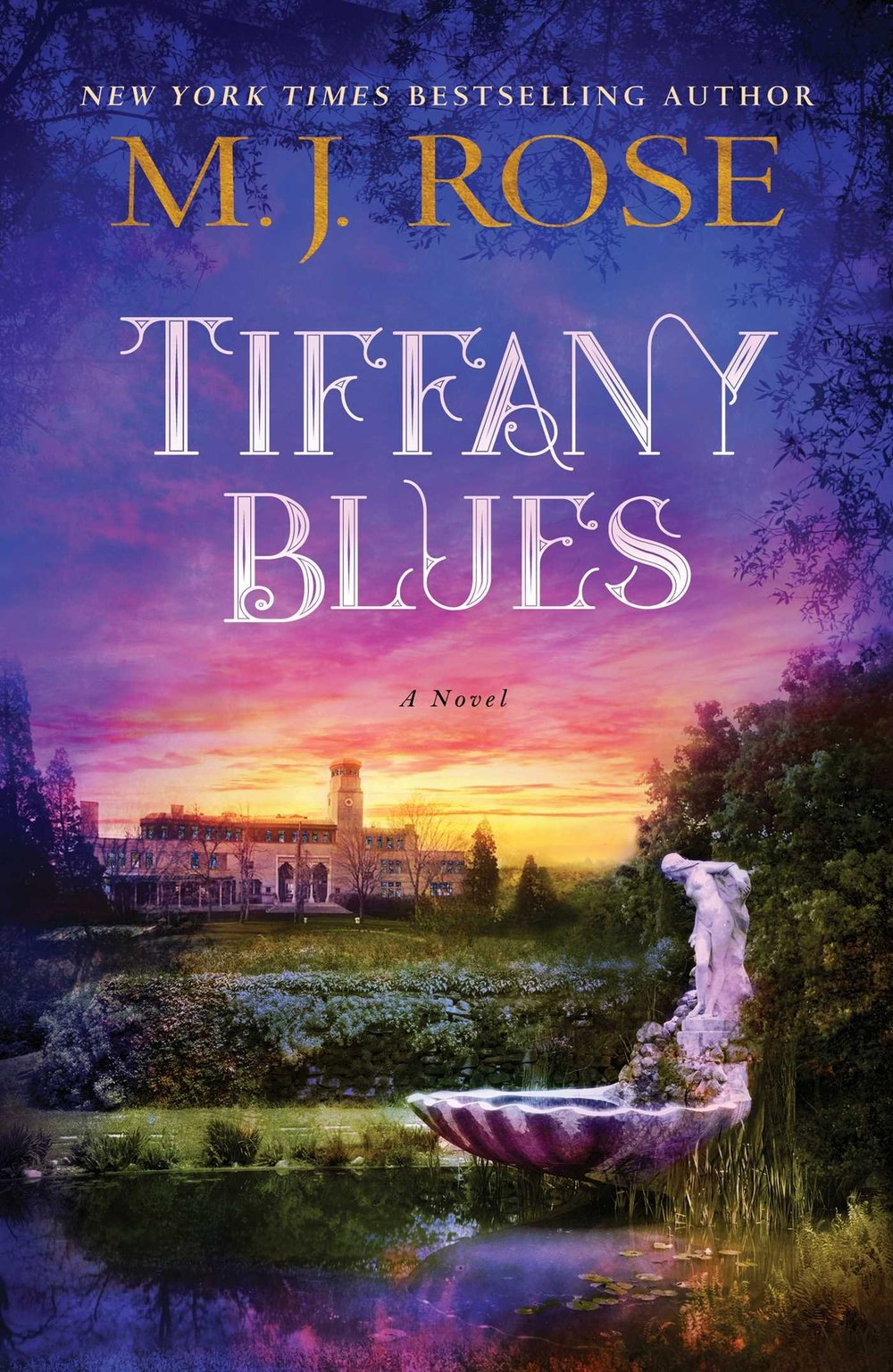 TIFFANY BLUES by M.J. Rose (Cover)