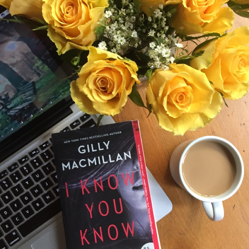 Book Review for I KNOW YOU KNOW by Gilly Macmillan
